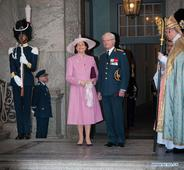 Swedish King's 70th birthday marked in Stockholm