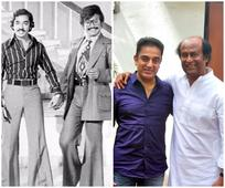 Rajinikanth and Kamal Haasan bust the myth that rivals can't be friends  view pic