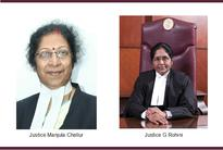 Will Manjula Chellur J. and  G Rohini J. be elevated to the Supreme Court?