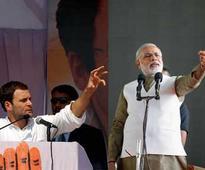 In poll-bound Gujarat, Narendra Modi, Rahul Gandhi cross swords over GST, demonetisation and temple visits