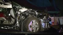 2 injured in four-car pile-up on North Freeway