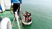 ONGC chopper carrying five Dy GMs falls into sea