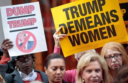 Women lawmakers seek probe into Trump's sexual misconduct allegations