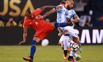 #CopaAmerica Final 'live' score: Argentina 0 Chile 0 ... Sanchez close to winning it for Chile