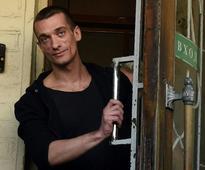 Russian protest artist Pyotr Pavlensky flees to France