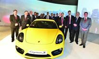 Porsche Centres reveals new generation Cayman