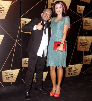 PIX: Diana Hayden parades baby bump on red carpet