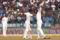 Vijay, Kohli help India to strong position in Kotla Test