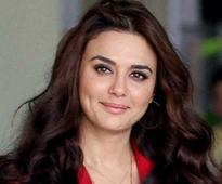 Never thought I would come back to acting: Preity