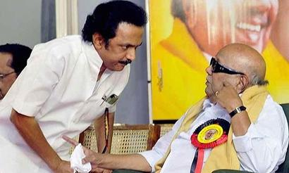 DMK's Karunanidhi makes Stalin political heir