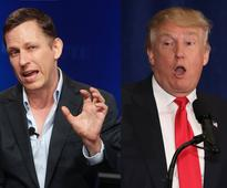 Billionaire tech investor Peter Thiel just gave his first explanation of why he's for Trump