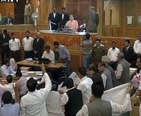 Ruckus in J&K assembly over Handwara killings, food security