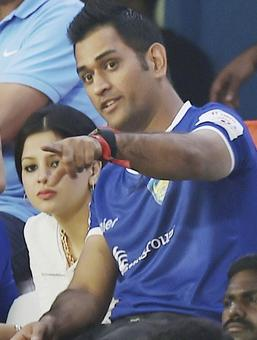 PHOTOS: After cricket, football gets Sakshi Dhoni's attention
