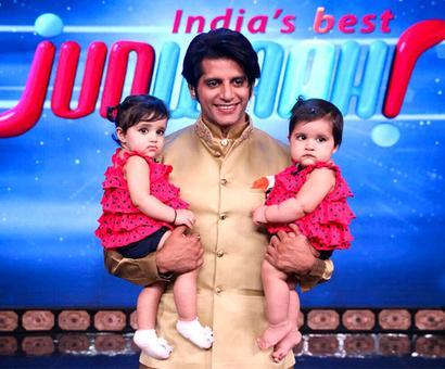 PIX: Karanvir Bohra's adorable twin daughters debut on TV