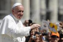 Pope Francis in Saint Peter's Square