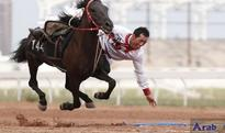Over 100 riders compete in equestrian event in north China
