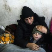Exodus under the Balkan snow