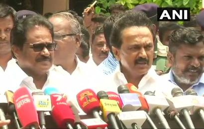 Cauvery protest: Stalin detained; DMK calls for shutdown on April 5