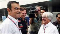 F1: Bernie Ecclestone to meet Carlos Ghosn to clear dispute