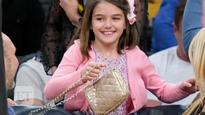 Katie Holmes steps out with look-alike 10-year-old daughter, Suri Cruise