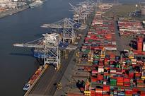 We unload ships up to 25 containers wide