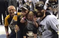 Eric Fehr's daughter really did not want to sit in the Stanley Cup