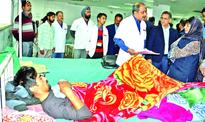 Mehbooba orders attachment of GMC Med Supdt over poor sanitary condition
