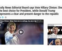 The Daily News Endorses Hillary Clinton