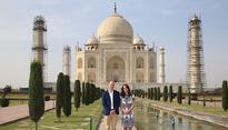 The Diana Bench has a new legacy: Will & Kate at the Taj Mahal