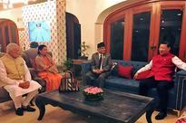 Oli, Bhattarai object to PM's 'trilateral meeting' claim