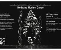 The American Dance Guild Announces Fall Performance Schedule