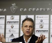 Osasuna Fires Coach Joaquin Caparros Because of Poor Results