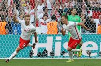 Poland lead Swiss 1-0 at half-time in Euro 2016