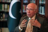 Pakistan ready for bilateral talks, won't discuss Kashmir issue at Afghan forum, says Sartaj Aziz