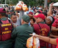 Venezuela's military will start distributing food and medicine to fight severe shortages
