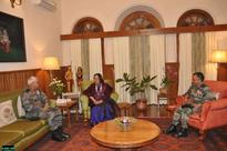 General Officer Commanding Eastern Army Commander visits Manipur