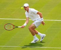 Kyle Edmund bounced out in Wimbledon first round
