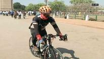 Bastar constable sets off on 6,000 km peace ride