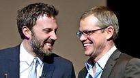 Would love to write another script with Ben Affleck: Matt Damon