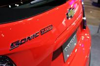 Facelifted Chevrolet Sonic unveiled in New York