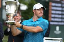 Golfer McIlroy hailed European Tour player of the year for the third time