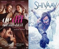 Ae Dil Hai Mushkil vs Shivaay: Battle shifts to screen ...