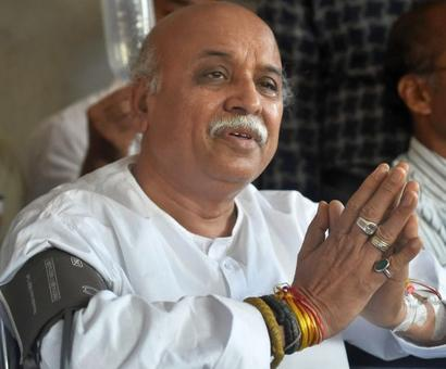 RSS gets its way as Pravin Togadia quits VHP