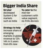 US Firm Stryker banks on India R&D to gain edge in emerging markets