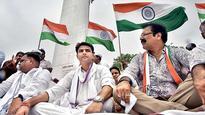 Congress takes pot shots at BJP on August Kranti Diwas