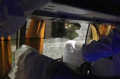Australia shaken after rock thrown at team bus in Guwahati