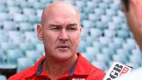 McGregor says no move to change coaching structure
