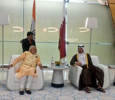 Modi reaches Doha, economic cooperation high on agenda