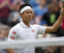 Nishikori rebounds to reach third round of Wimbledon, Bencic and Ferrer out