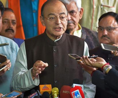 Congress taking 2G judgment as badge of honour: Jaitley